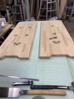 作り付け家具 スタンディングテーブル
